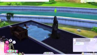 Vivre avec la mort Sims 4 (épisode 1)