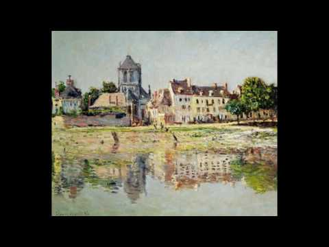 Claude Monet Complete Works, Online Gallery, Full HD, French Impressionist Paintings with Piano