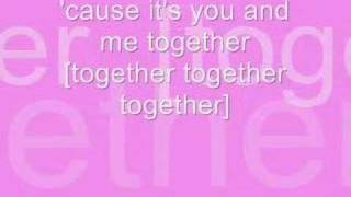 hannah montana - you and me together lyrics and download