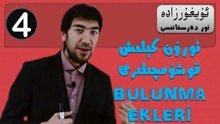 4 Türkçede Bulunma Ekleri (Uyghur, Uygur)
