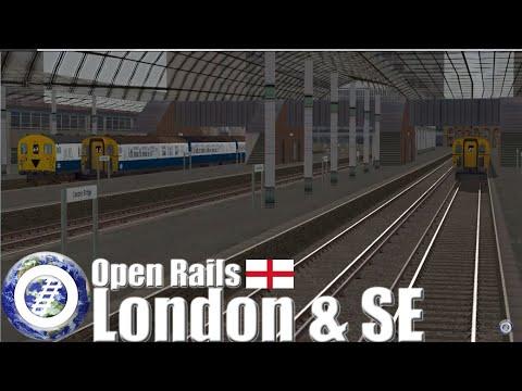 Open Rails (MSTS successor) - London & South East