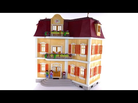 Playmobil Large Grand Mansion Part 1 Empty Set 5302 Youtube