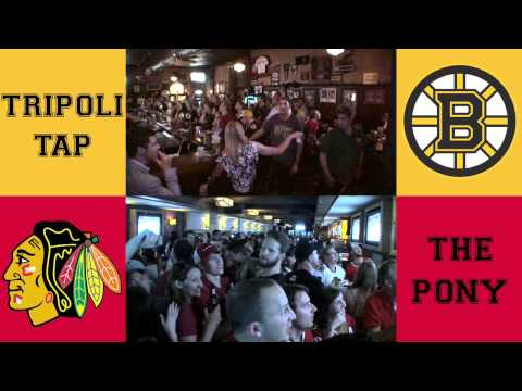 Blackhawks vs. Bruins Stanley Cup Final: A tale of two bars