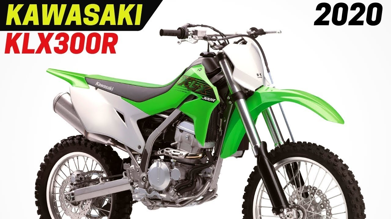 AWESOME! 2020 Kawasaki KLX300R With Much Needed Modern Updates