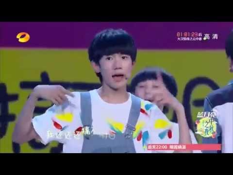 【TFGlobal】TFBOYS宠爱 湖南卫视中秋晚会现场舞蹈版 full cut of Beloved dance Live show via HNTV