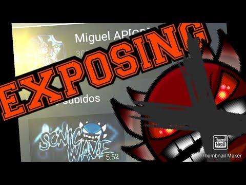 EXPOSING Miguel AP[GD] | (Speed Hack) Tío, Para Ya | Geometry Dash 2.11