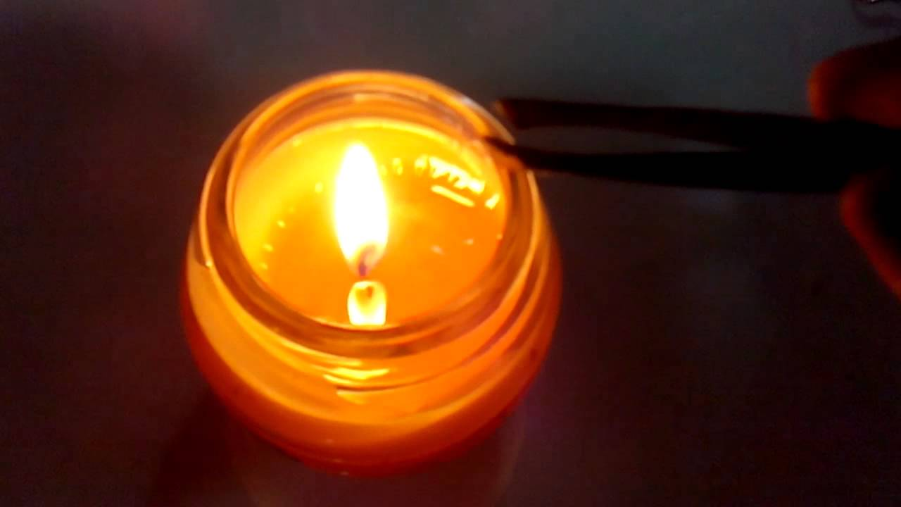 How to Put Out a Candle with Your Fingers