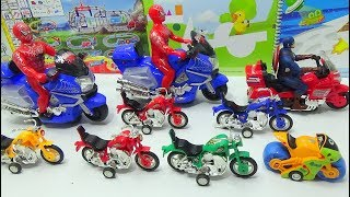 Kid Video - Learn sizes with collection of motorbikes | kid toys, video for kids