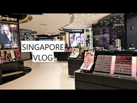 SINGAPORE VLOG | SHOPPING HAUL & ARAB STREET