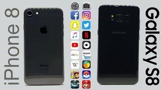Samsung S8 v iPhone 8 | SPEED-TEST
