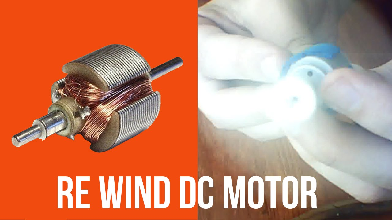 Re Winding New Wire In Electric RC/Toy DC Motor Coils Using Old Phone  Charger