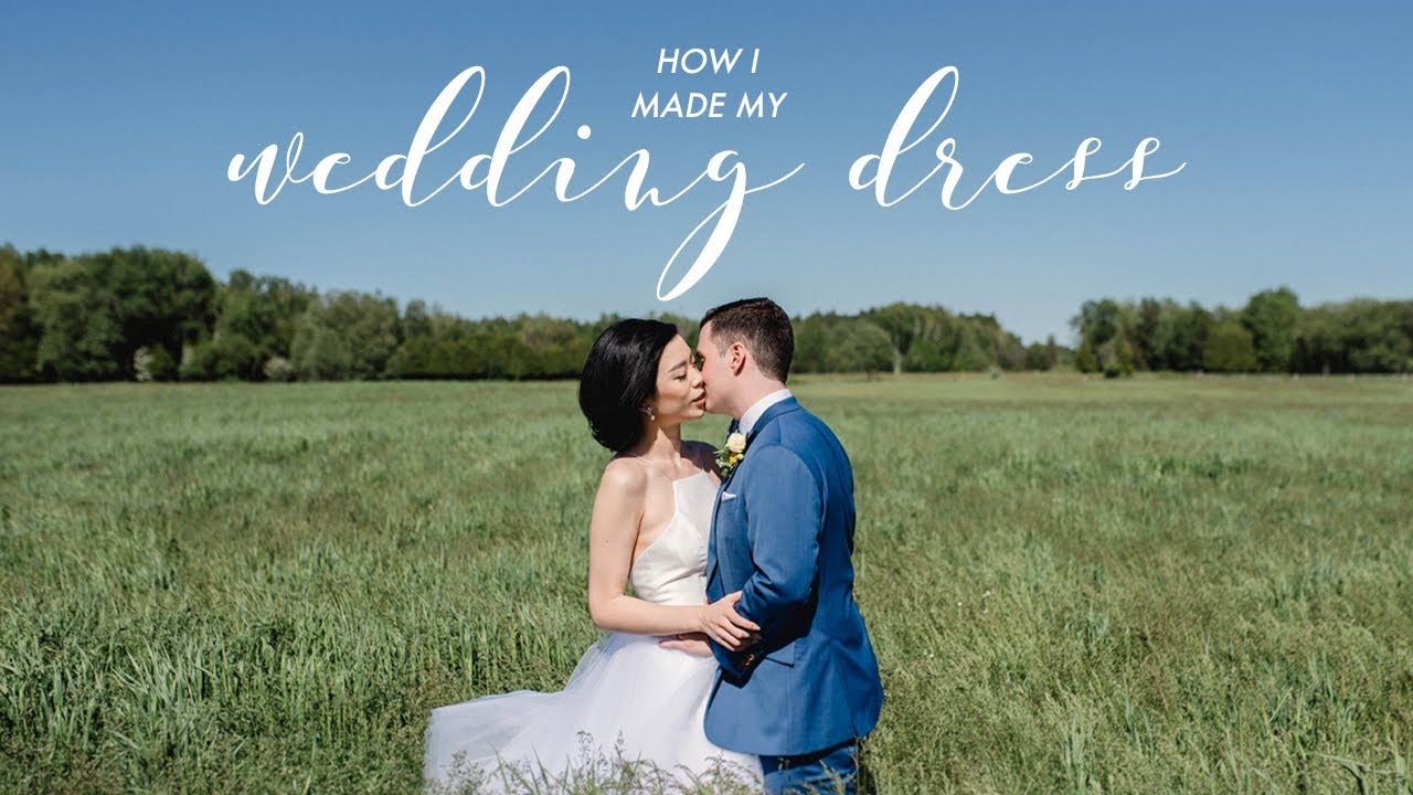 DIY WEDDING DRESS | WITHWENDY - YouTube