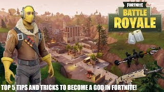 HOW TO BE A GOD IN FORTNITE AND WIN EVERY GAME!!!!