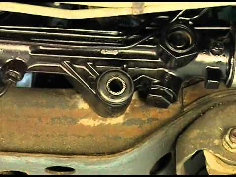 Rack And Pinion Mounting Bushing Inspection Youtube