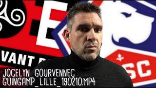 JOCELYN GOURVENNEC RÉAGIT APRÈS GUINGAMP - LILLE (0-2) / Ligue 1 - 10 février 2019