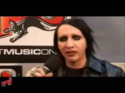 Marilyn Manson Talks About Heart-Shaped Glasses