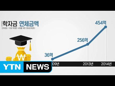 """대학생 학자금 대출 급증...""""졸업 뒤 빚에 허덕"""" / YTN"""