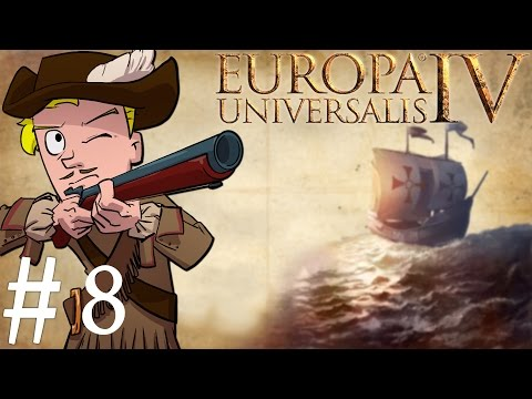 Europa Universalis 4 | Mare Nostrum | Part 8 | Lets Colonize
