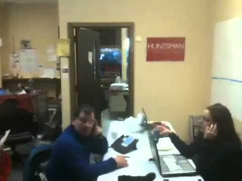 Inside Jon Huntsman's New Hampshire HQ