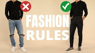 7 Fashion Rules All Men Should Learn Once And For ALL