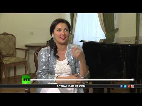 Entrevista con Anna Netrebko, cantante de ópera rusa