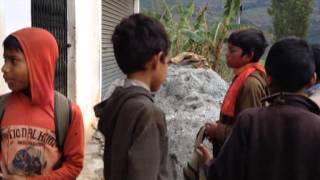 Nepal Holi Celebration - Baitadi District Far West Nepal