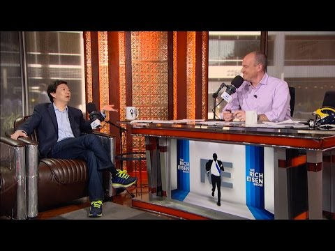 "Actor Ken Jeong ABC's ""Dr. Ken"" Joins The RE Show in Stdio - 3/16/17"