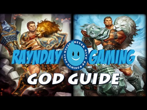 Smite God Guide: Hercules Gameplay and Build (1080p) (Tank/Disruptor Build)