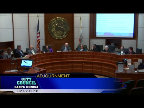 City Council Meeting February 27, 2018