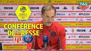 Conférence de presse AS Monaco - Paris Saint-Germain ( 1-4 )  / 2019-20