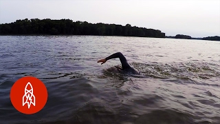 What it Feels Like to Swim the Entire Mississippi River
