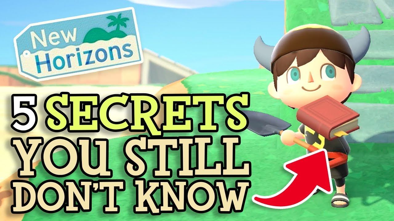 Animal Crossing New Horizons: 5 SECRET DETAILS You STILL Don't Know (More ACNH Tips You Should Know)