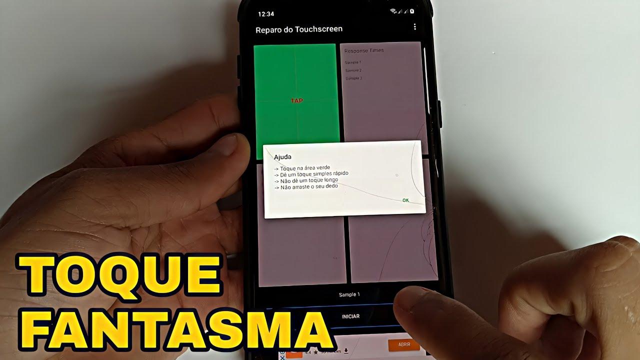 COMO RESOLVER O TOQUE FANTASMA NO SEU SMARTPHONE