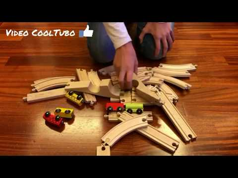 Toy Train for children - Train for kids - Train video - FULL HD