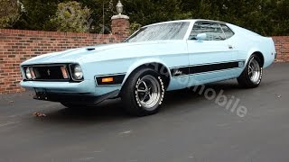 1973 Mustang Mach 1 Q-code engine, for sale Old Town Automobile in MD