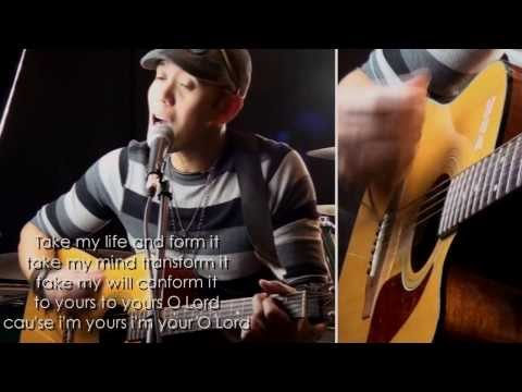 Take My life/Holiness With Lyrics- Scott Underwood (Ray Caballero  Cover) HD Acoustic