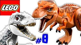 🐈 ЛЕГО мультик ИГРА про динозавров Парк юрского периода [8]