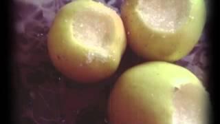 Запечённые яблоки в микроволновке,пошагово и просто