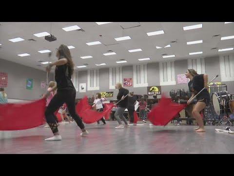Lubbock Cooper High School students are performing in Macy's Thanksgiving Day Parade