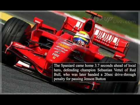 Fernando Alonso wins German Grand Prix