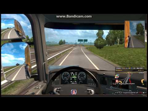 Travelling to furry conventions episode 4: Stockholm to Zurich with Scania (ETS2)