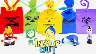 Inside out Halloween Surprise Treat Bags Do It Yourself Disney Pixar Toy Goodie Bags