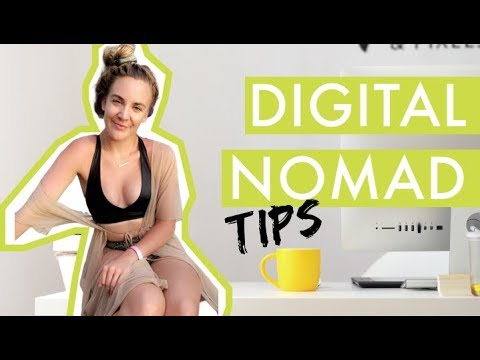 Working online and traveling the world /// Digital Nomads