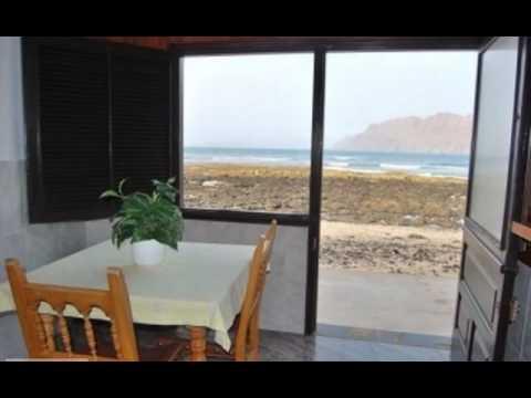 Apartment BULABULA for 2p in Famara for rent in Lanzarote .wmv