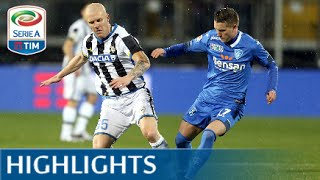 Empoli - Udinese 1-1 - Highlights - Matchday 23 - Serie A TIM 2015/16