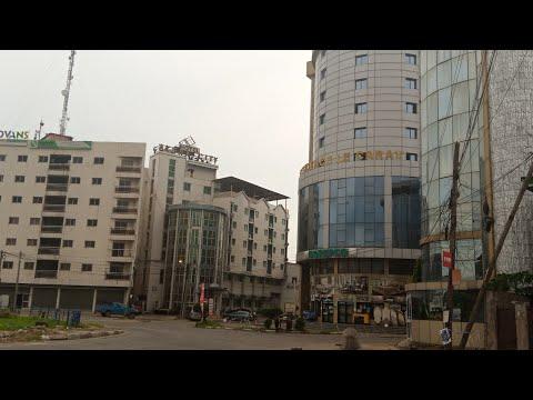 BUSINESS HUB OF DOUALA CAMEROON/ AKWA TOUR