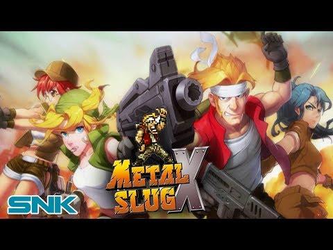 Metal Slug X Neo Geo Arcade Game Splash Games