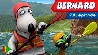 Bernard Bear - 151 - Canoeing