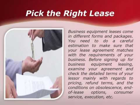 How You Can Save More from Your Equipment Lease? |  US Business Funding