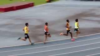 20150516「2015年台灣國際田徑邀請賽 男子組 800公尺預賽 第二組 賴彥廷第6道次 號碼2375」影音檔AR0A9666